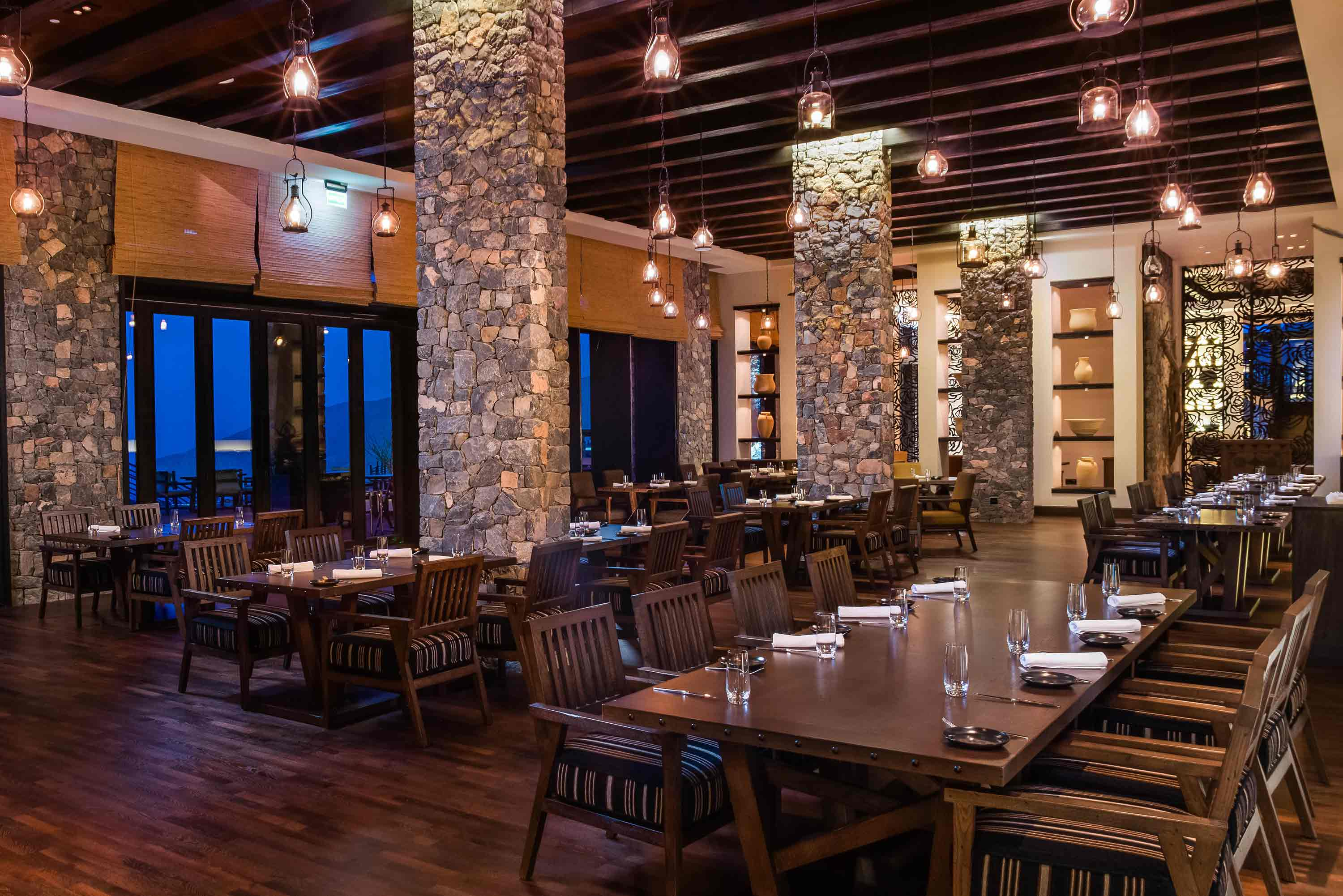 Restaurants in Oman | Juniper Restaurant at Alila Jabal Akhdar Oman