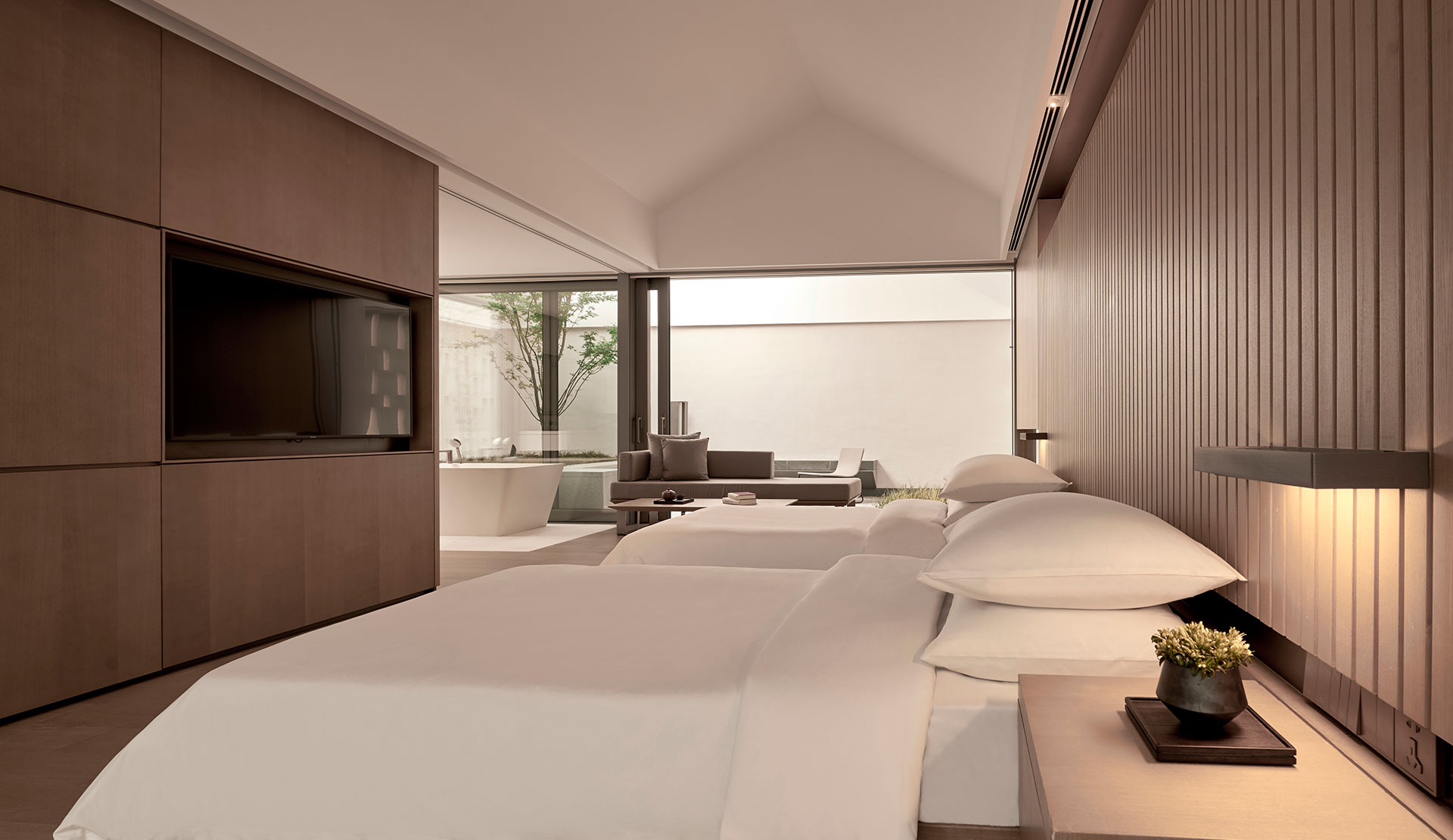 Alila Boutique Luxury Hotels And Resorts 2 Twin Beds Loft Suite