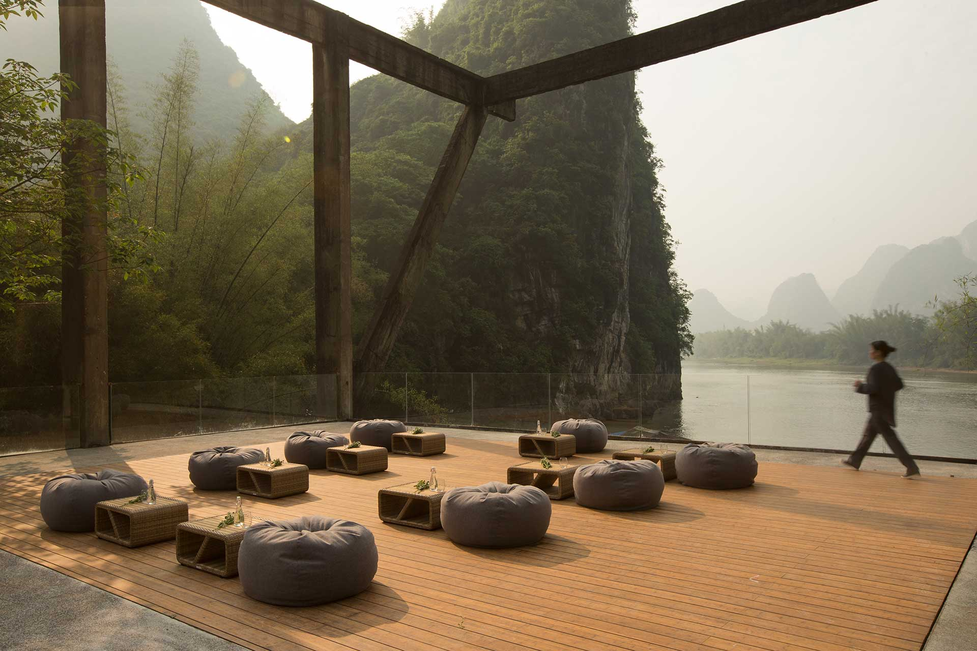 Creative Event Space, Overlooking Li River at Alila Yangshuo