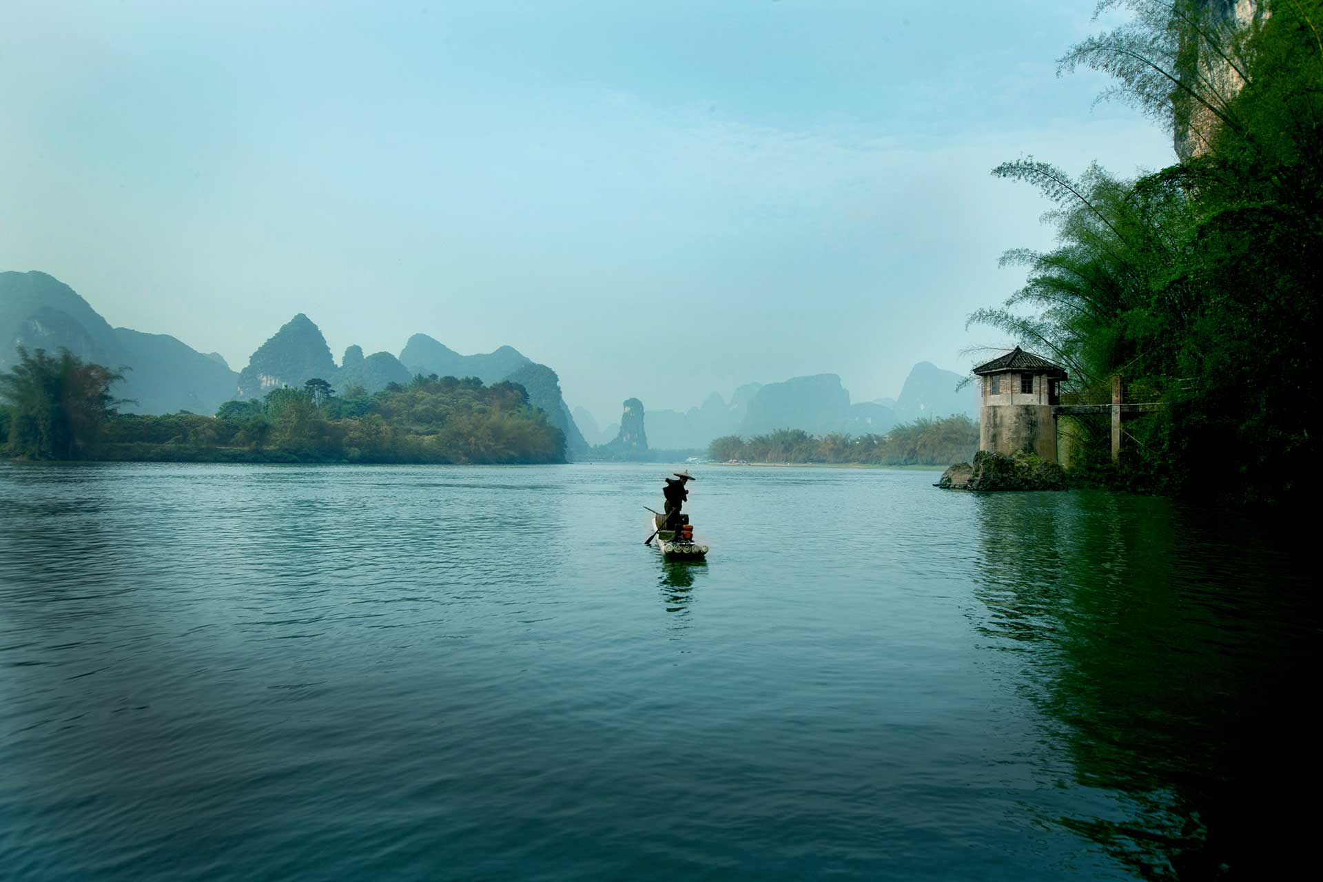 Alila Yangshuo River Cruise by The Pump House