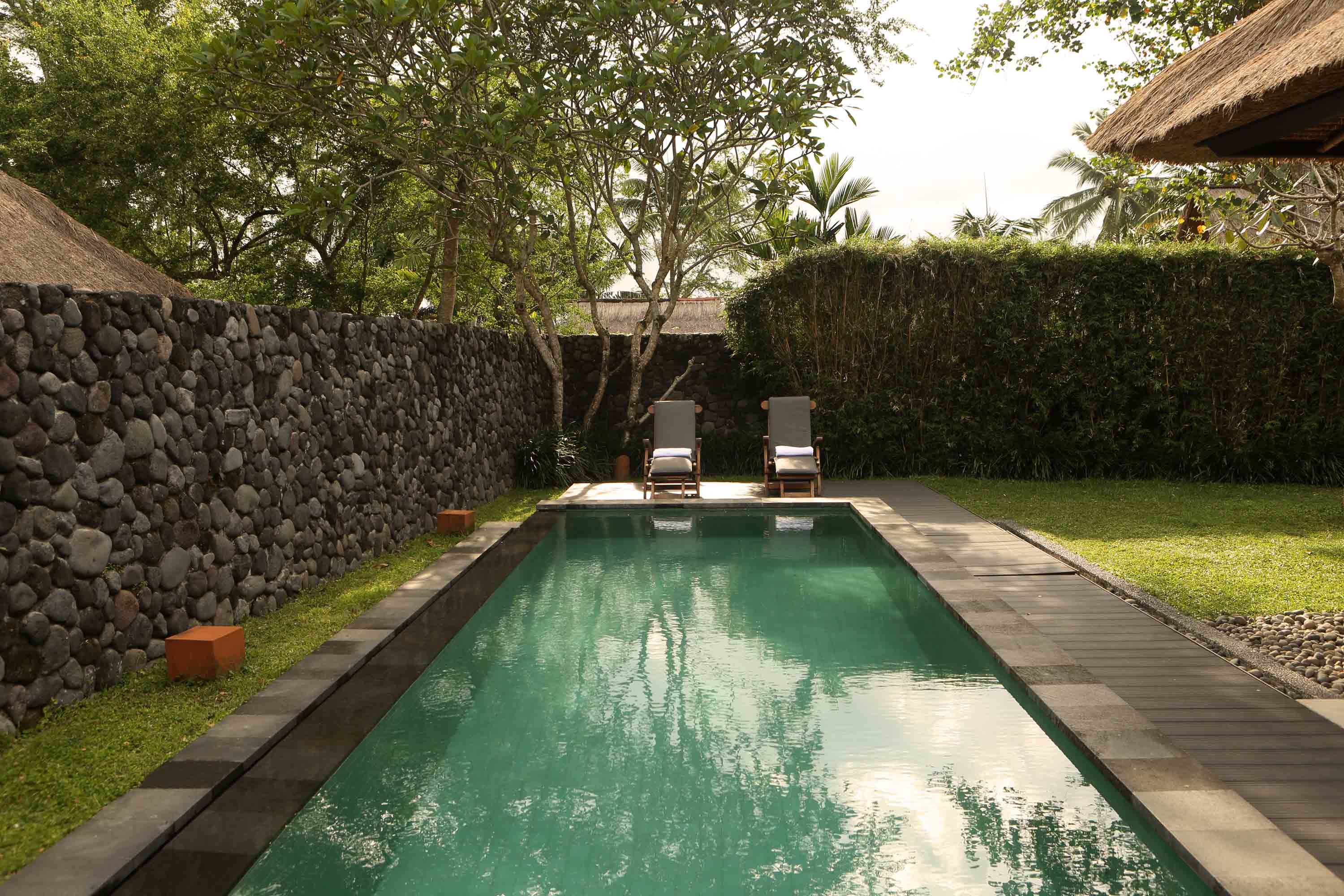 Pool villa ubud alila ubud pool villa luxury hotels for Garden pool villa ubud